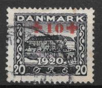 Danemark - AFA 121 - oblitérés