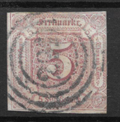 Thurn&Taxis 1859 - AFA 18 - stemplet