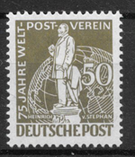 Berlin 1949 - AFA 38 - ustemplet