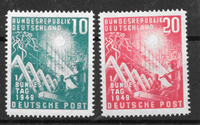 Allemagne 1949 - AFA 1074-75 - neuf