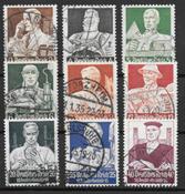 Empire allemand 1934 - AFA 549-557 - oblitérés