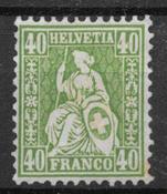 Suisse 1862 - AFA 39 - Neuf avec charnière