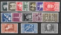 Italien 1937 - AFA 508-522 - ustemplet