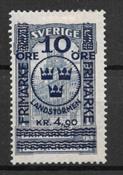 Suède 1916 - AFA 87 - Neuf avec charnière