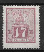 Suède 1862 - AFA 15 - Neuf avec charnière