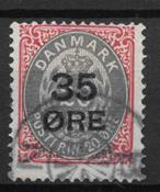 Danmark 1912 - AFA 61 - stemplet