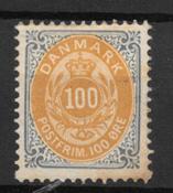 Danemark 1895 - AFA 31By - Neuf avec charnière