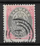 Danemark 1875 - AFA 28 - oblitérés