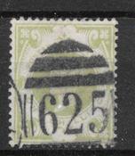 England 1887 - AFA 97 - stemplet