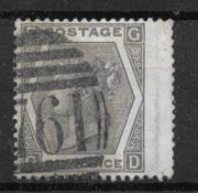 England 1872 - AFA 39 - stemplet