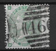 England 1862 - AFA 22 - stemplet