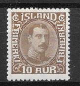 Islande 1931 - AFA 161+62+65 - neuf