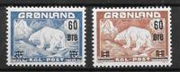 Groenland 1956 - AFA 37-38 - neuf