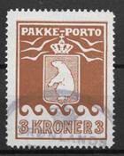 Grønland 1930 - Pak  12 - stemplet