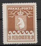 Grønland 1930 - Pak  12 - ustemplet