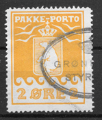 Grønland 1915 - Pak. 5 - stemplet