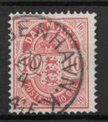 Danemark 1885 - AFA 35z - oblitérés