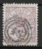 Danemark 1865 - AFA 12 - oblitérés