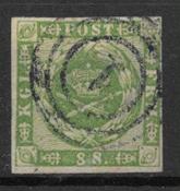 Danemark 1858 - AFA 8 - oblitérés