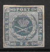 Danemark 1854 - AFA 3 - Neuf avec charnière