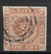 Danemark 1854 - AFA IIIb - oblitérés