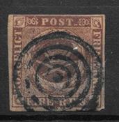 Danemark 1851 - AFA I - oblitérés