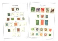 Danemark - Collection 1851-1975