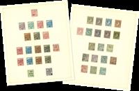 Monaco - Verzameling 1885/1930