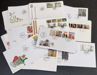 Denmark - Packet with first day covers