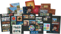 Russia - 2017 second half without standing order - 64 stamps, 11 souvenir sheets, 3 booklets
