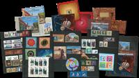 Rusland - 2e helft 2017 zonder abonnement - 64 postzegels, 11 souvenirvelletjes, 3 boekjes
