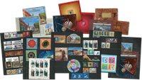 Rusland - 2017 andet halvår med abonnement - 2017 andet halvår med abonnement: 64 frimærker, 11 miniark, 3 hæfter