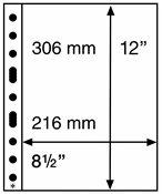 Platic pockets SH312, 312x242 mm, 50 pcs