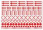 Mærkningsetiketter - 10 ark