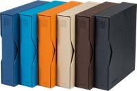 Reliure à anneaux OPTIMA PUR, incl. étui de protection, orange
