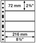 Pochettes en plastique SH312, 312x242 mm, 50 pcs