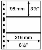 Plastlommer SH312 3C,312x242 mm, 50 stk.