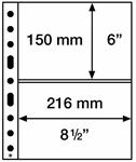 Muovitaskúja SH3123 2C, 312x242mm, 50 kpl.