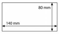 Pochettes de protection BASIC pour billets de banque et «Euro Souvenir», 140 x 80 mm, 50x - .