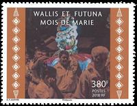 Wallis - Marias måned - Postfrisk frimærke