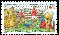 Wallis - VM Fodbold - Postfrisk frimærke