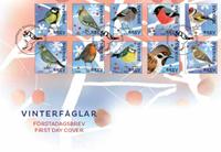 Suède - Oiseaux d'hiver - Env. 1er jour