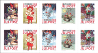 Sverige - Jenny Nyströms jul - Postfrisk frimærkehæfte