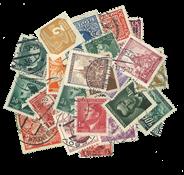 Tjekkoslovakiet - Böhmen-Mähren - Frimærkepakke - 25 forskellige-stemplet