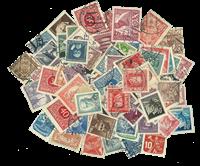 Tjekkoslovakiet - Frimærkepakke - 100 forskellige stemplet