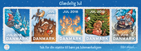 Denmark - Christmas seals 2018 - Mint giant sheet