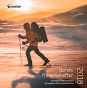 Norge - Årsmappe hæfter 2018 - Flot hæfteårsmappe 2018