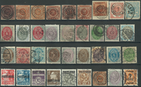 Danemark - Lot 1852-1973