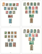 Tyskland Fransk Zone - Lot 1945-49