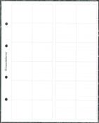 Intercalaires blancs á annoter pour recharges OPTIMA 34